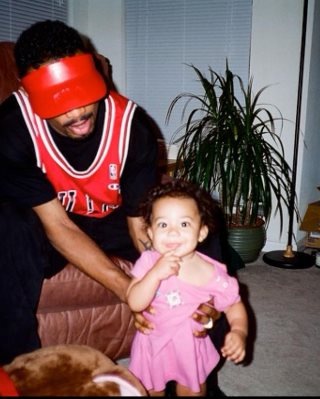 Dino Conner with her Daughter Kayja Rose when she was young