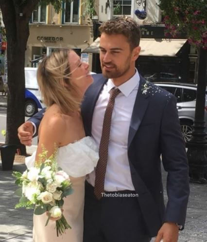 Ruth Kearney Marriage with Theo James