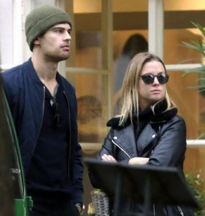 Theo James and Wife Ruth